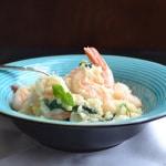 Shrimp and Feta Risotto