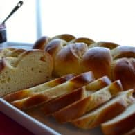 Armenian Easter Bread (Choereg) - this brioche-like bread is so delicious, we make it all year round! | @tasteLUVnourish