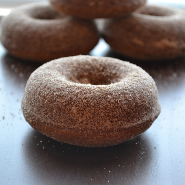 Baked Cider Donuts - the whole family will love this baked version of a classic fall favorite! | @tasteLUVnourish