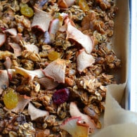 Maple Apple Crunchy Superfood Granola