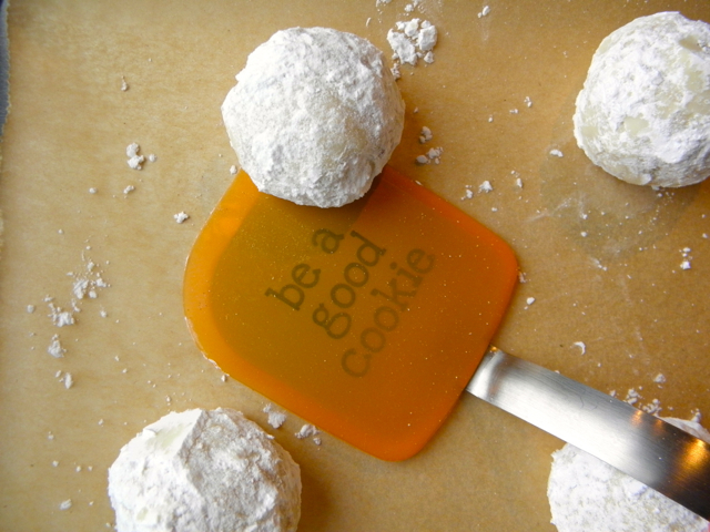 Cardamom and Fig Snowballs - love this twist on our family favorite.   @tasteLUVnourish