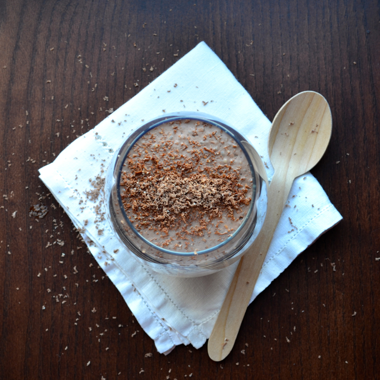 Silken Cocoa Chia Pudding Inspired by 6 foods that boost your beauty!   @tasteLUVnourish on tasteloveandnourish.com