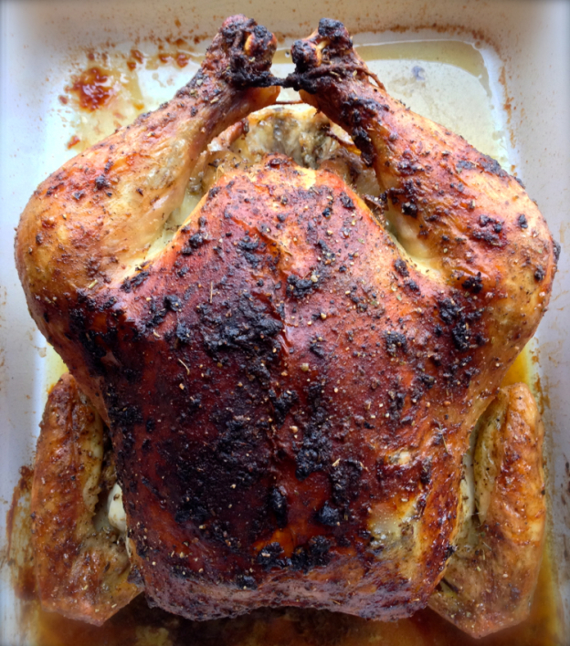 Chicken This simple recipe is my family's favorite roasted chicken ...