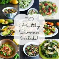 Healthy Summer Salads Roundup Collage