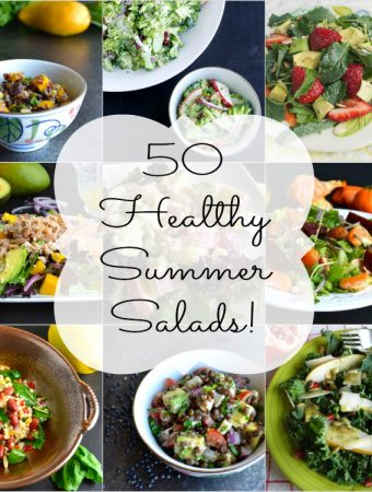 50 Healthy Summer Salads and Five Tips for Creating the Perfect Salad
