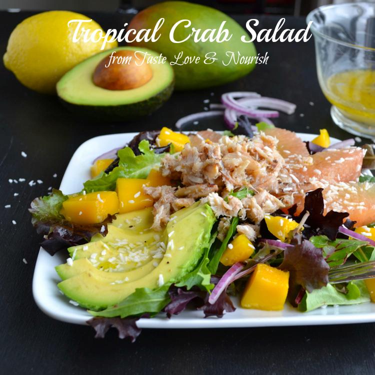 Tropical Crab Salad