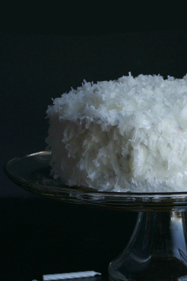 Coconut Key Lime Cake - Key lime and coconut are such a perfect combination. This tropical cake has been lightened up, but you'll never notice. It's moist, sweet and delicious! | @tasteLUVnourish