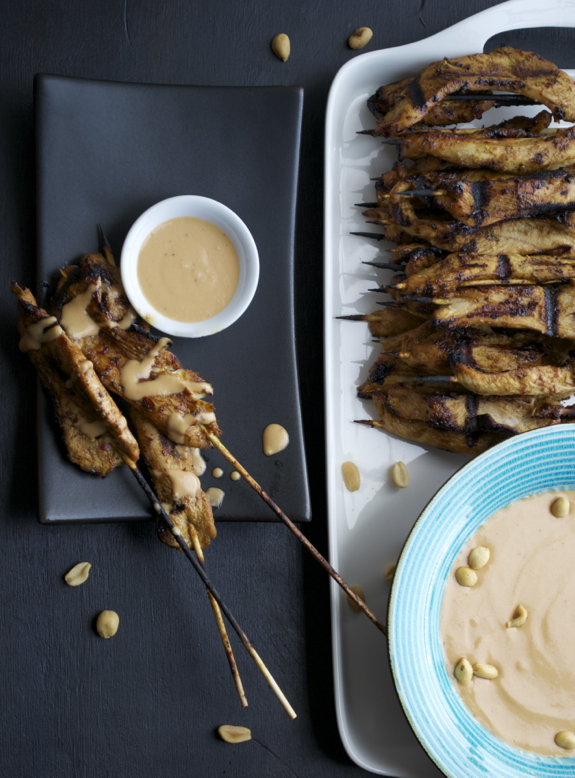Thai Chicken Satay - this may be the most delicious I've ever made! | @tasteLUVnourish | #satay #thai