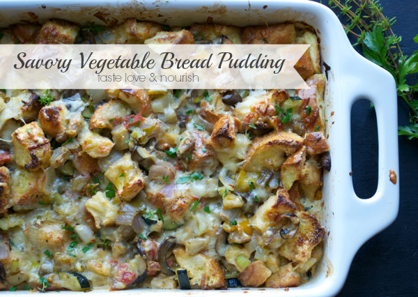 Savory Bread Pudding With Spinach, Chevre, Smoked Ham ...