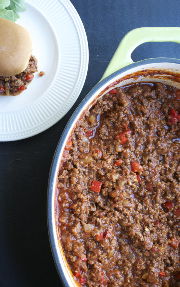 Sloppy Joes | Taste, Love, and Nourish