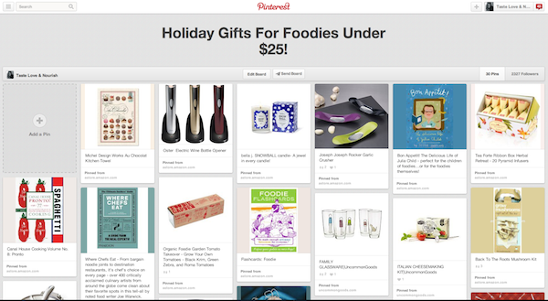 Holiday Gifts for Foodies Under $25