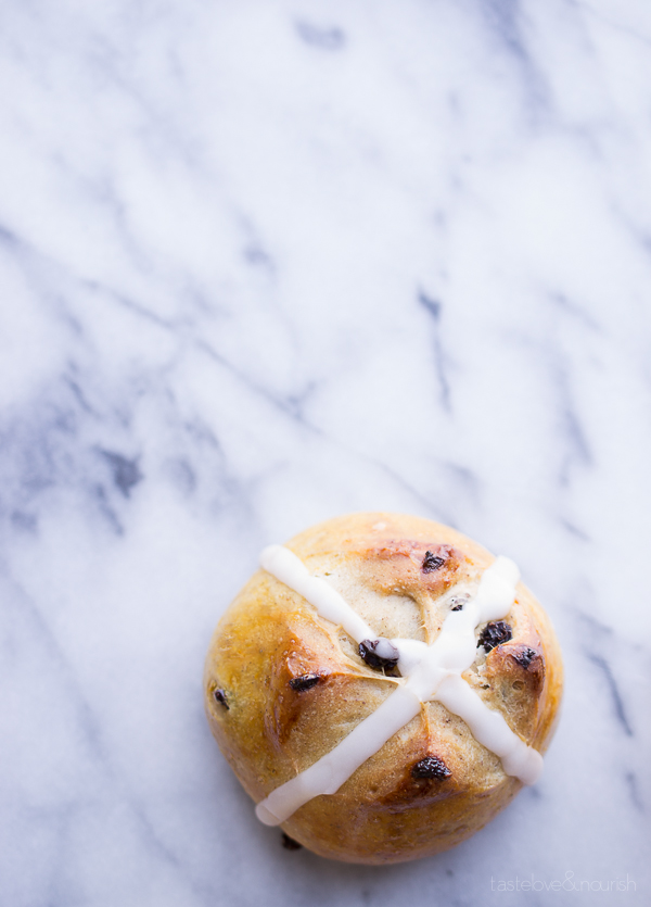 Hot Cross Buns from Taste Love & Nourish