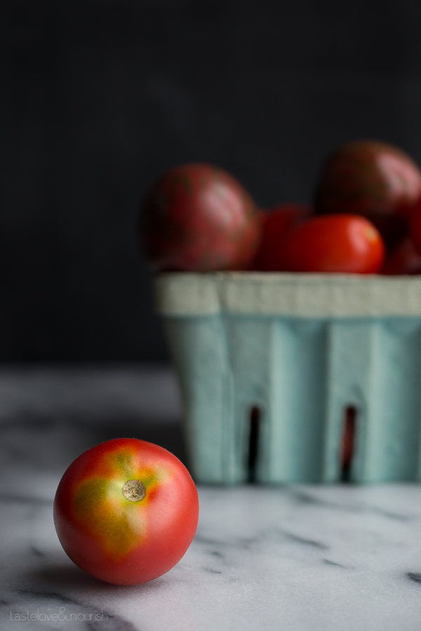 Gazpacho | @tasteLUVnourish | #gazpacho #tomatoes #avocado #cucmber #healthy #vegan #vegetarian #soup