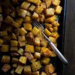 Five-Spice Roasted Butternut Squash | @tasteLUVnourish #butternut #squash #fivespice #roasted #sidedish #fall #winter #easy #healthy #recipe #vegan #glutenfree #tasteloveandnourish