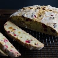 Cranberry Orange Soda Bread