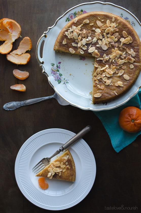 Mandarin Almond Cake - this cake is so delicious and natually gluten-free and paleo. | @tasteLUVnourish on TasteLoveAndNourish.com