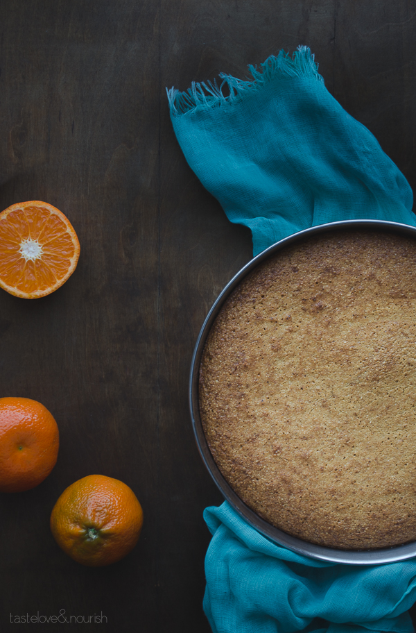 Mandarin Almond Cake - this cake is so delicious and natually gluten-free and paleo.   @tasteLUVnourish on TasteLoveAndNourish.com