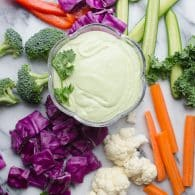 Jalapeño Greek Yogurt Dip - this is our favorite dip! | @tasteLUVnourish on TasteLoveAndNourish.com