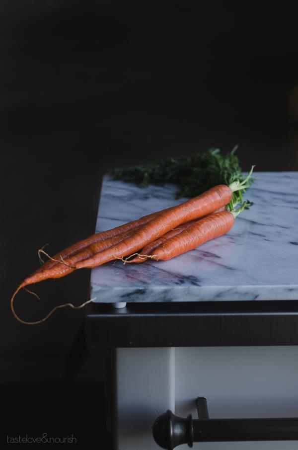 Maple Glazed Carrots - this easy side dish will become your family's favorite!   @tasteLUVnourish TasteLoveAndNourish.com