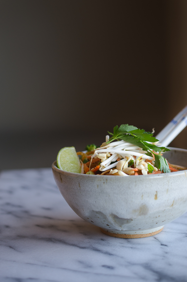 Easy Vegan Vegetable Pad Thai-8