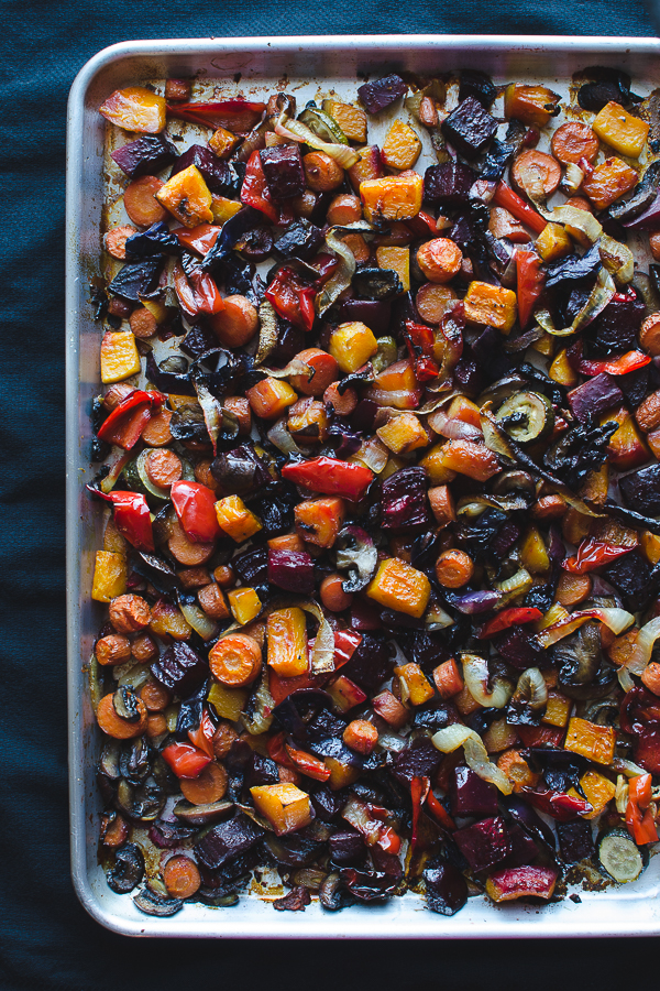 How to Perfectly Roast Vegetables - easy tips to roast veggies to perfection and delicious ideas on how to use them! | @tasteLUVnourish