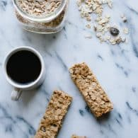 These easy Muesli Breakfast Bars are an unbelievably delicious way to grab-and-go on busy mornings! @tasteLUVnourish