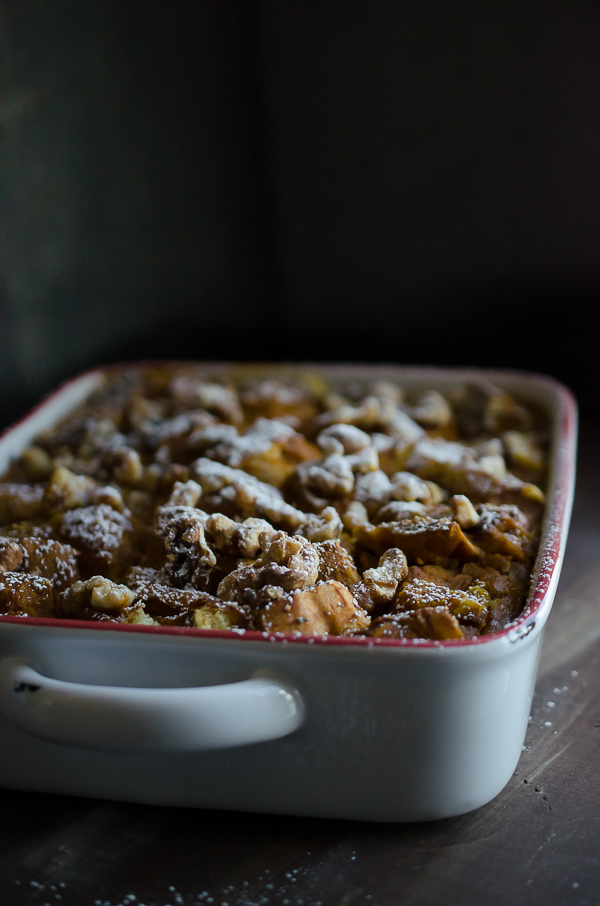 As simple as beating a couple of eggs, this easy Pumpkin Bread Pudding becomes a perfect fall dessert or sweet breakfast with just minutes of prep. TasteLoveAndNourish.com