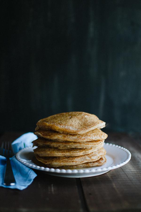Whole Wheat Vegan Pancakes Taste Love And Nourish