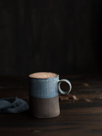 This hot cocoa recipe may be simple, but what you'll end up with is a rich and cozy cup of cocoa made without refined sugar or dairy. |V|GF|DF| @tasteLUVnourish