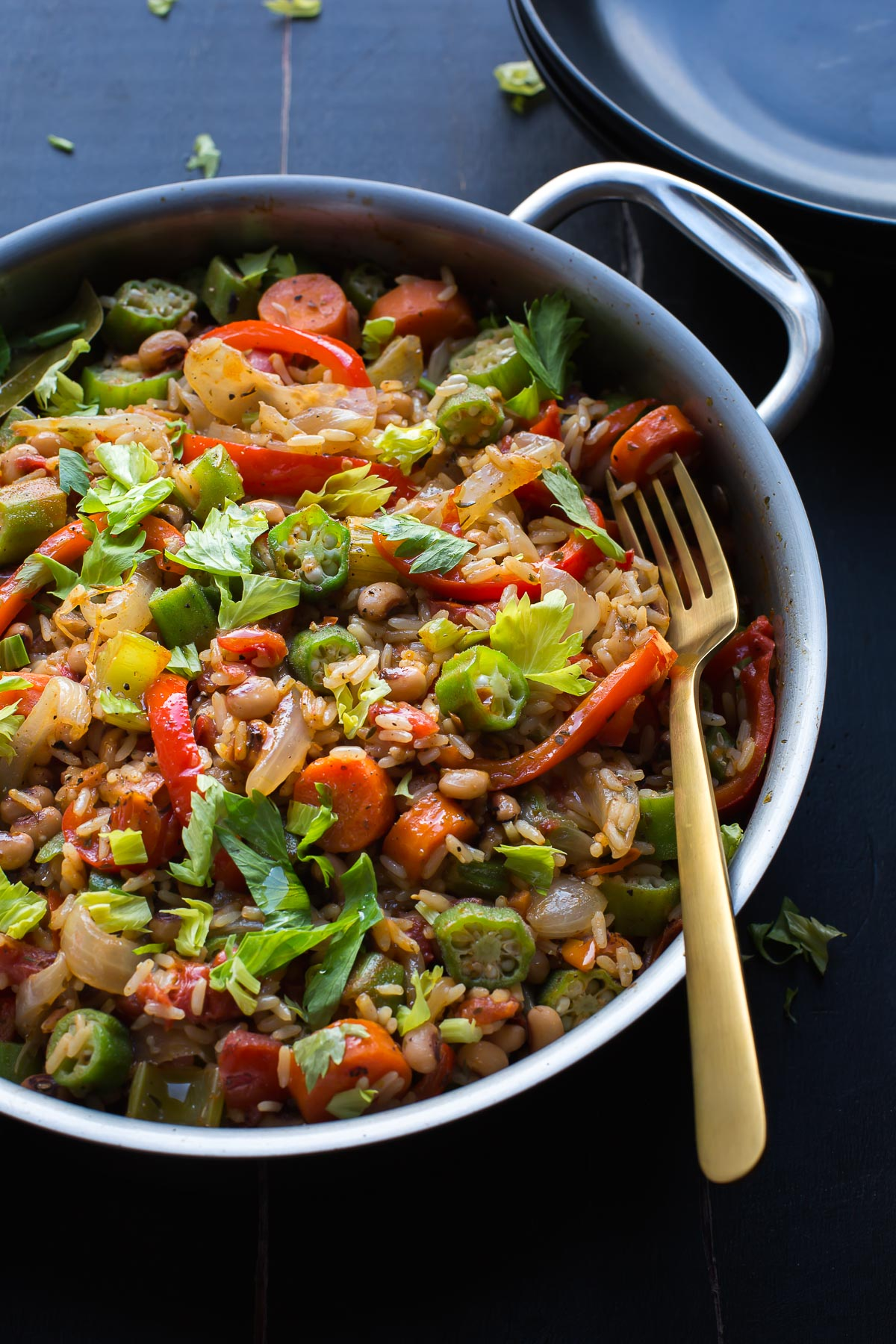 Vegetable jambalaya taste love and nourish this easy vegetable jambalaya has amazing flavor with a bit of spice tips for creating forumfinder Choice Image