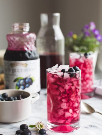 Blueberry Switchel (Haymaker's Punch)
