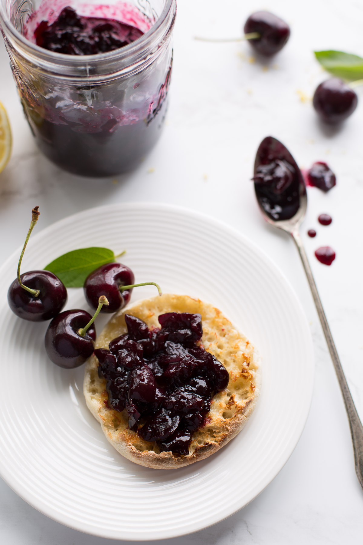 Easy Cherry Jam - Taste Love and Nourish