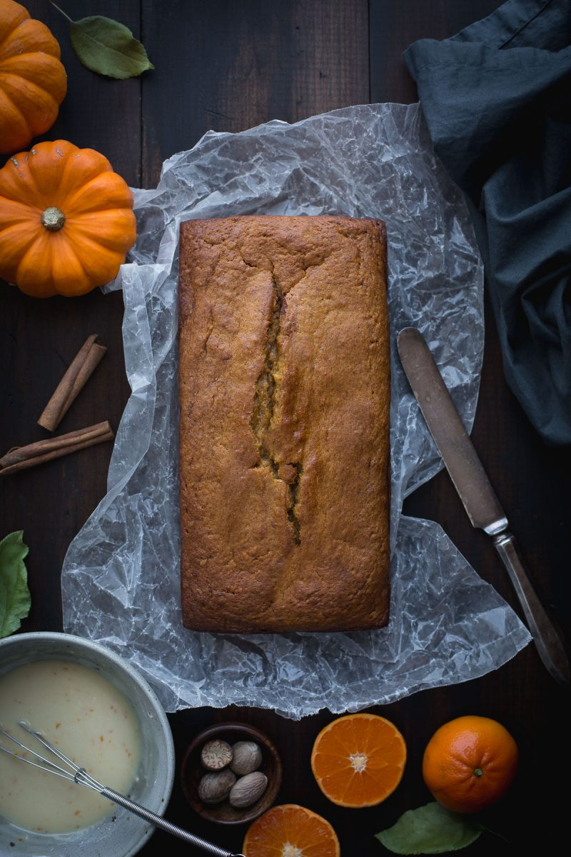 Bump your pumpkin bread up a notch with this Bourbon Glazed Orange Spiced Pumpkin Bread. Fall flavors that will make your mouth super happy, but with a bit less sugar and with heart-healthy fats. Easy, quick and perfect for breakfast, snacks or even dessert! From @tasteLUVnourish