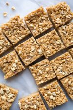 Salted Peanut Butter Rice Crispy Treats