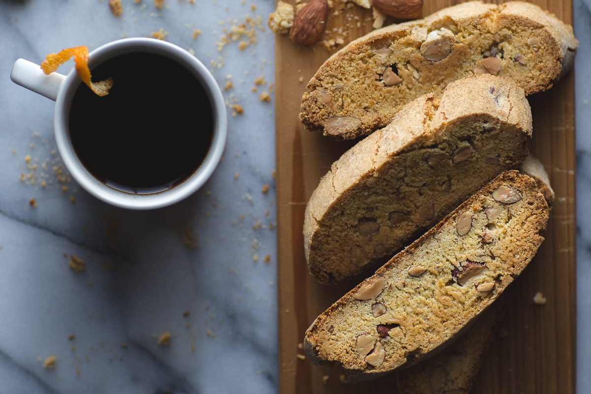 If you've been searching for a biscotti with the perfect texture…not too hard, not too soft, but absolutely just right, bookmark this Almond Olive Oil Biscotti recipe right now! Along with its great crunch, this biscotti is made with olive oil, making this sweet recipe even better! From @tasteLUVnourish