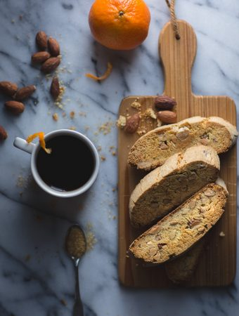 Almond Olive Oil Biscotti