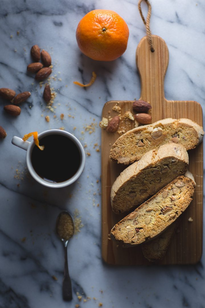 If you've been searching for a biscotti with the perfect texture…not too hard, not too soft, but absolutely just right, bookmark this Almond Olive Oil Biscotti recipe right now! Along with its great crunch, this biscotti is made with olive oil, making this sweet recipe even better! From @tasteLUVnourish #biscotti #almond #oliveoil #orange #easy #recipe