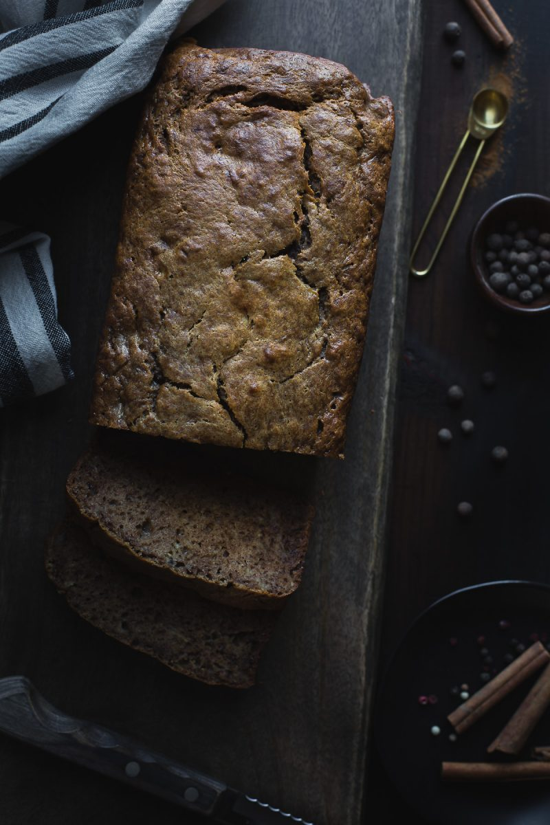 You are going to love this healthy Chai Spiced Banana Bread, made without refined sugar and infused with flavors of warm spices. Easily adapts to vegan or gluten free. From @tasteLUVnourish