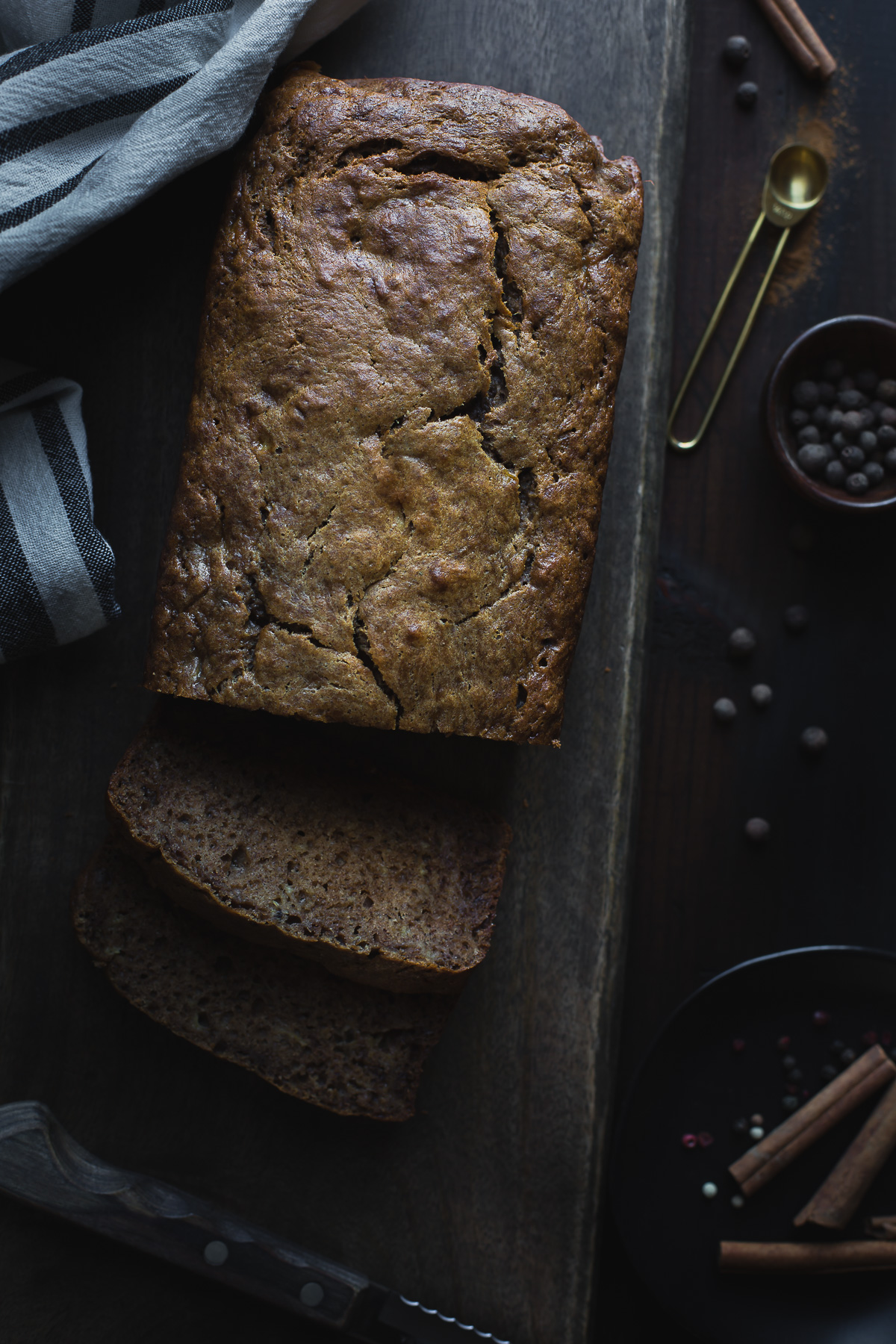 Chai spiced banana bread taste love and nourish you are going to love this healthy chai spiced banana bread made without refined sugar forumfinder Images