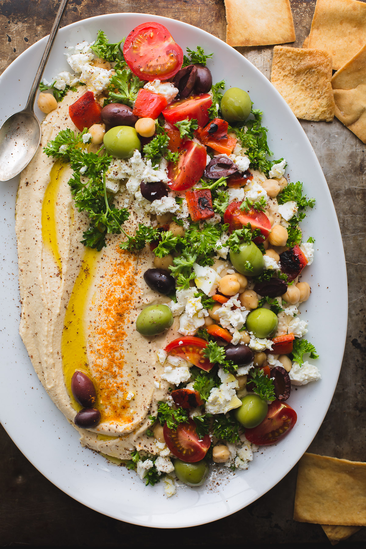 loaded hummus - taste love and nourish